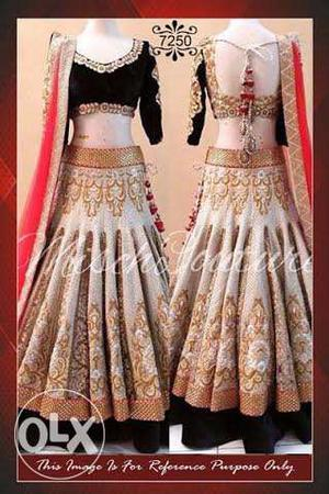 Designer Party Wear Lehanga at Just Rs.  !!