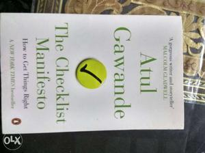 Management Book by Atul Gawade...Unused