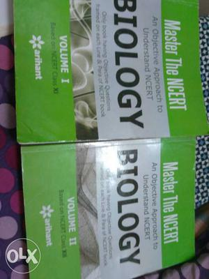 Pair Of Biology Volume 1 And 2 Books