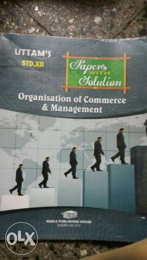 Papers With Solution Organisation Of Commerce And Management