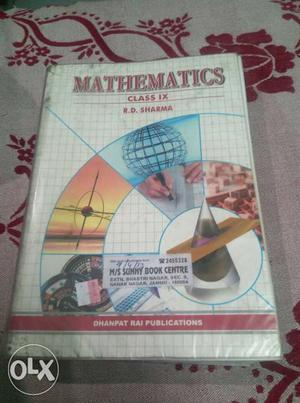 R D Sharma class 9 mathematics in excellent