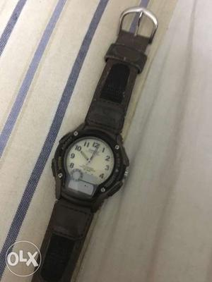 Real casio watch in good condition