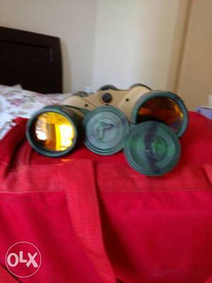 Sehfield military binoculars. two three times
