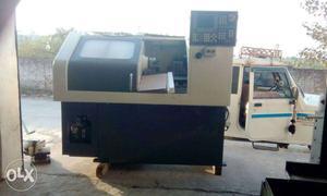 Used CNC Turning Machine, Linear Tooling, Siemens