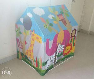 Blue, Purple And Yellow Fisher-Price Inflatable House