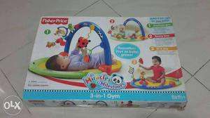 Fisher price 3 in 1 baby gym can be used in three