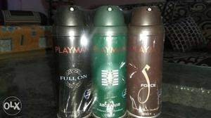 Get combo of 3 pack of deodorant only on 250