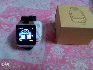Brand new smart watch, aling with pedo meter,