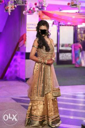 For rent designer golden Chiku colour Indo