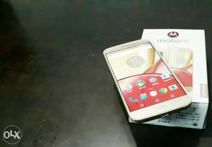 Moto - m (gold) 4 gb ram and 64 gb internal with box (two