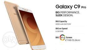New Brand Samsung C9 pro no have one single