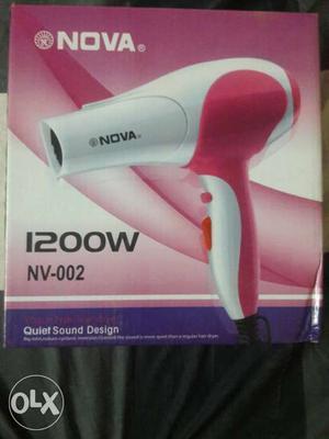 Nova hair dryer  W brand new dryer