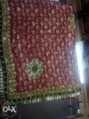 Party wear saree bought at Rs
