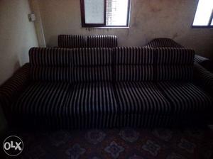 1 big sofa and 1 small sofa