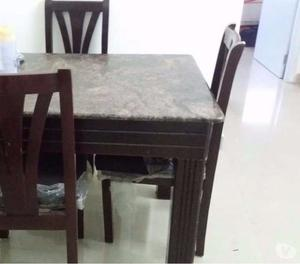 6 seater dinning table with granite top Bangalore