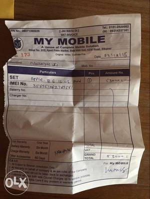 In good condition, single hand used. Rate is fix