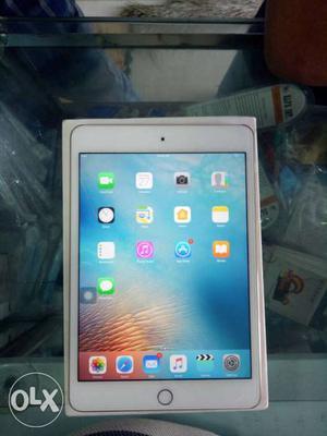MK6L2HN/A ipad mini 4 wi-fi 16GB gold,brand new 2