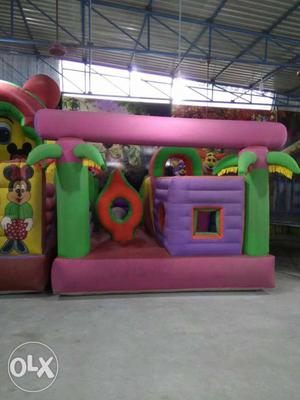 Obstacle course inflatable bouncy  ft in