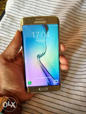 Samsung galaxy S6 edge very very light used