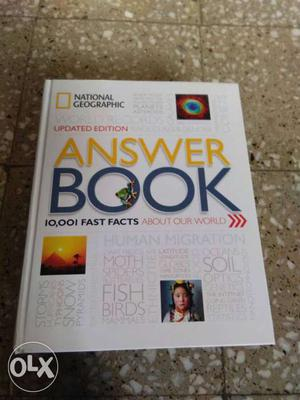 national geographic answer book fast facts about our world