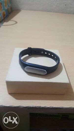 Xiaomi Mi Band fitness band black 6 months old