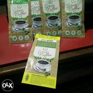 Green coffee fat burner Organic caffeine free