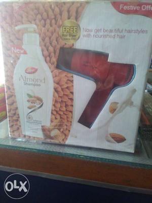 Hair dryer free with Dabur Almond shampoo 350 ml