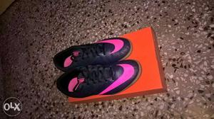 New Nike indoor football shoes brand new with box