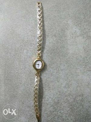 A Sonata ladies watch never used is up for sale