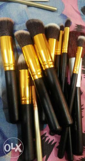 Makeup brush set in a very good condition 10
