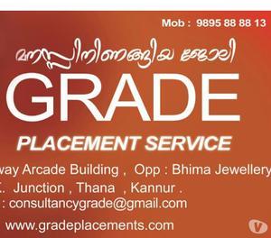 Urgent openings in Kannur, Kannur