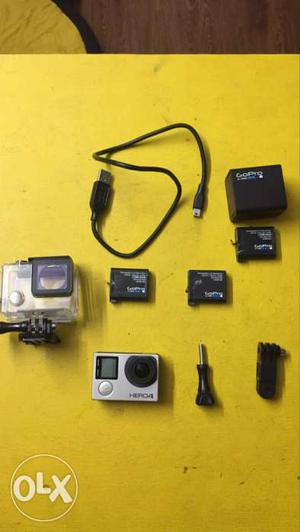 Go Pro Hero 4 Black Edition with dual battery