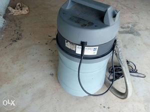 Gray Wet And Dry Vacuum Cleaner
