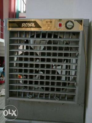 Grey And Brown Royal Evaporative Air Cooler