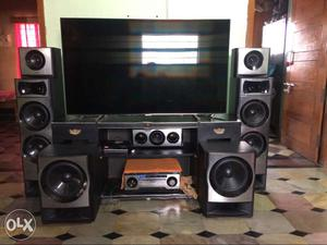 Sony home theatre and samsung Tv.. just for 50k.