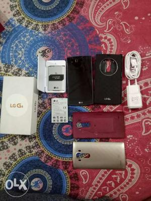 LG G4 all original accessories that includes - 2