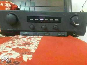 Black Philips Shelf Stereo Unit