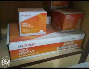 CP plus 4 camera 500 gb HDD DVR n all connector