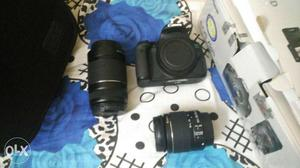 Canon 700 D, With 8 gb memory card, Camera bag, 2