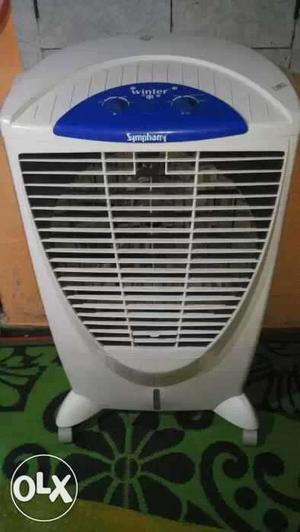 Gray And Blue Symphony Portable Air Cooler '