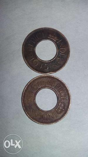It is old Indian coin of