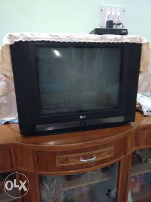 LG Widescreen CRT TV