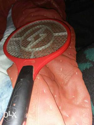Red And Black Electric Fly Swatter
