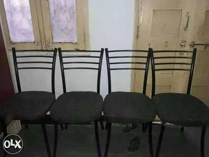 Four gentle used chair 's