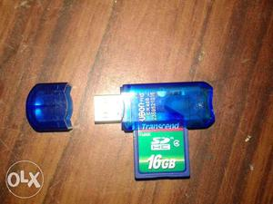 Good condition transcend 16GB SD HC memory card