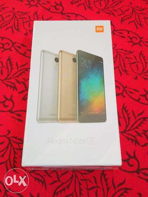 Redmi Note 4 (Golden & Black) 3GB RAM (Seal Box Dabba Pati
