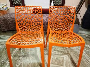 Two visitors chairs at trivandrum