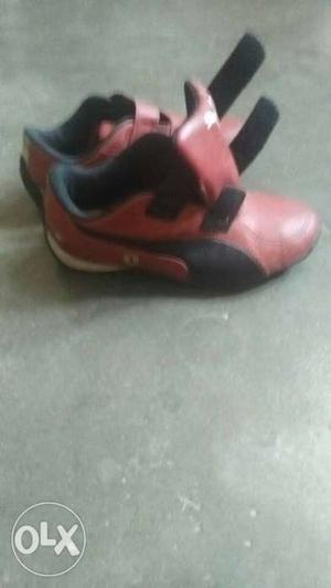 Puma kids shoe in excellent condition, size uro