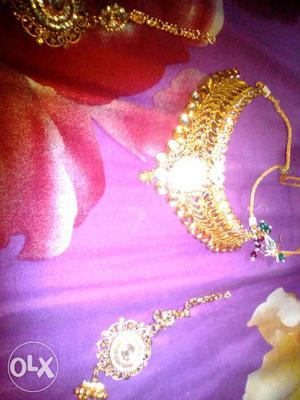 Artificial jewellery set new brand and craved