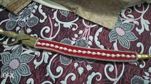 Brand new Manyavar sherwani & groom accessories